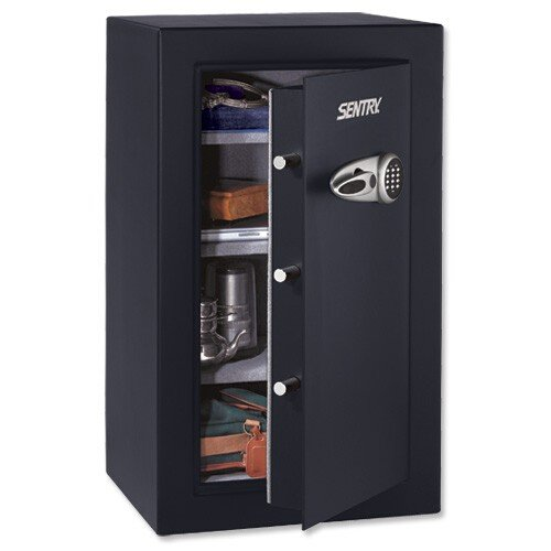 Sentry Group T0331 Exec Security Safe, 21-7/10-Inch x19-4/5-Inch x37-7/10-Inch, 6.1 CU.FT, BK