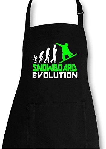 EZYshirt® Snowboard Evolution Grillschürze