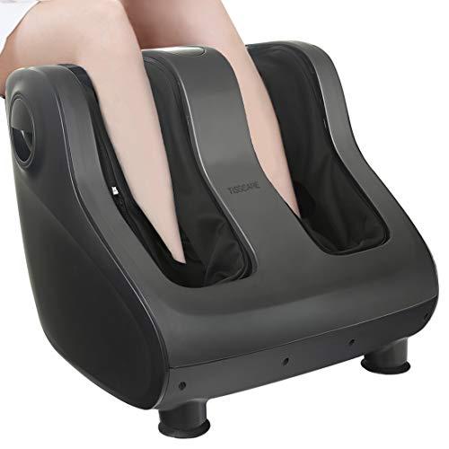 TISSCARE Foot Massager Machine with Heat - Shiatsu Massager for Tired Feet, Leg, Calf,...