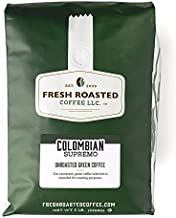 Fresh Roasted Coffee, Unroasted Colombian Supremo, Kosher, 5 Pound