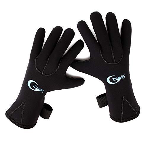 Surepromise 3MM Neoprenhandschuhen Neopren Handschuhe Neoprenschuhen S M L XL (XL)