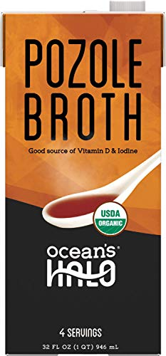 Ocean's Halo Organic and Vegan Pozole Broth, 32 oz. per Unit, 2 Pack