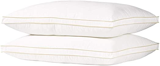 Regal In House - Cotton Blend Hotel 2 Pillow Set, Feather Alternative filler 1300 Gram - 75x50