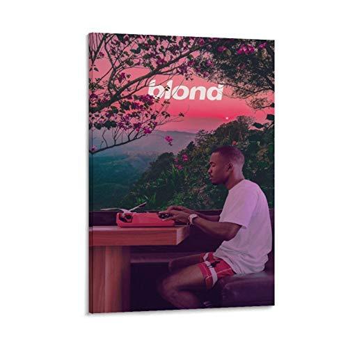 EKEL Frank Ocean Sunset Blonded - Lienzo decorativo para pared (30 x 45 cm), diseño de paisaje rubio