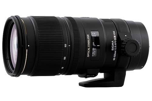 Sigma Telephoto Zoom Objektiv 50-150mm F/2,8 APO EX DC OS HSM (77mm Filterdurchmesser) für Nikon Objektivbajonett