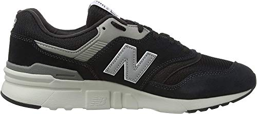 New Balance Herren 997H Core Sneaker, Schwarz (Schwarz/Silber Charcoal), 47.5 EU