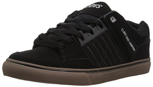 DVS Shoes Herren Celsius CT Sneaker, Schwarz (Black Nubuck), 47 EU