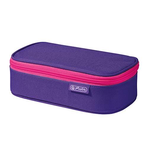 herlitz 50022076 Faulenzer beatBox Purple, 1 Stück