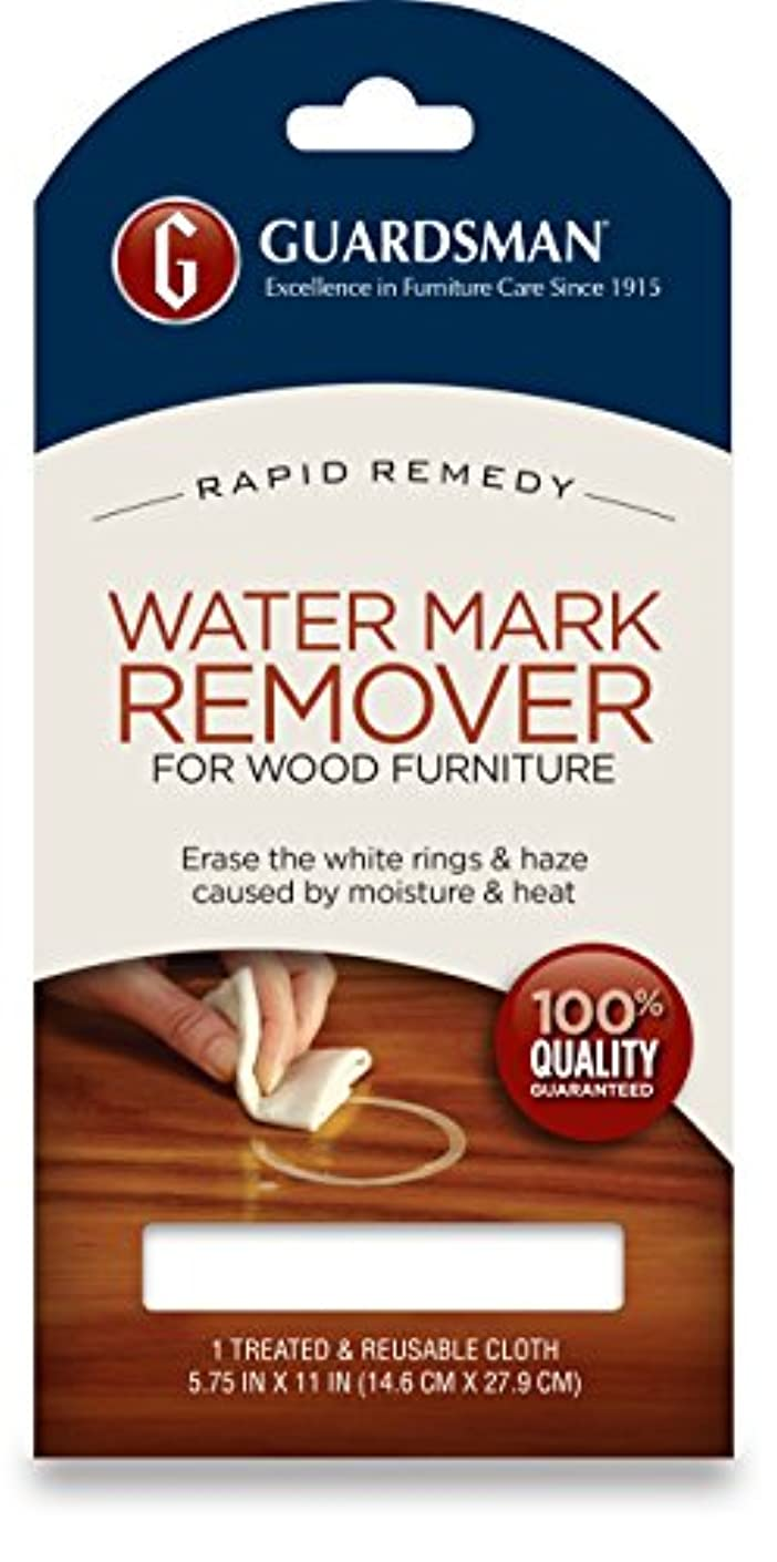 Guardsman Water Mark Remover Cloth - Erase White Rings & Haze Caused By Moisture and Heat - Reusable - 405200