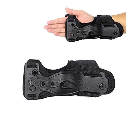VITTO Handgelenkschutz Schutzausrüstung Handpads für Snowboard Skifahren Skateboard Roller Skating Roller Scooter Kinder Frauen Männer {Schwarz, Mittel}