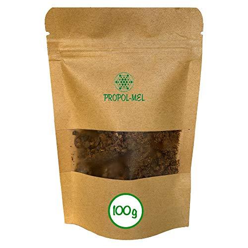 Propoleo puro pulverizado (100g) 100% natural. Propoleo no calentado directo del apicultor. El mejor antibiótico natural.