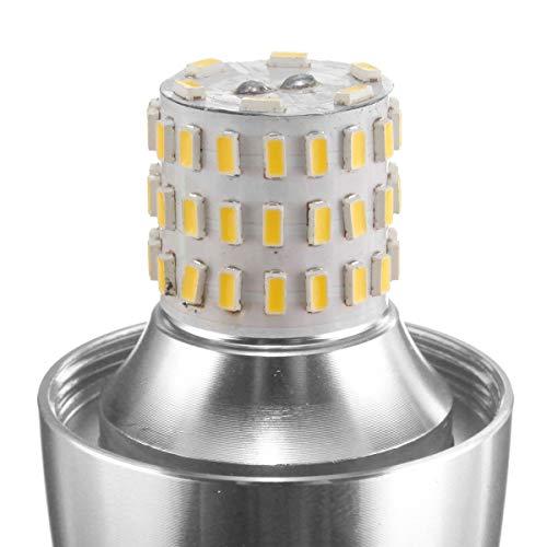 LXH-SH LED Bulb Dimmerabile E14 7W 60 SMD 3014 LED Lampadina Bianca Bianca Bianca Calda Lampada a Candela AC 220 Lampadina (Color : Warm White)