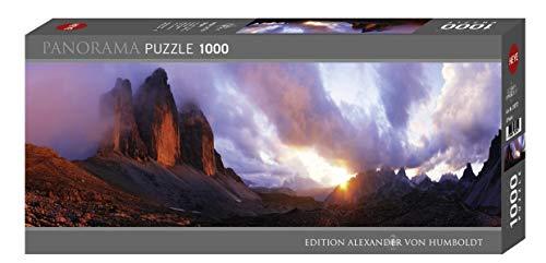 Heye- Puzzle Panoramico Humboldt 3 Peaks, 1000 Pezzi, VD-29770