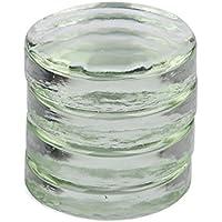 Juego de 4 Pesos de fermentación de Cristal para Tarro de Boca Ancha, para fermentación de chucrut, Kimchi o pepinillos