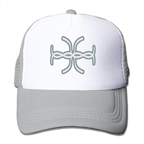 Custom Baseball Cap Personalized Tape Design Ajustabel Snapback Hat one size-grey