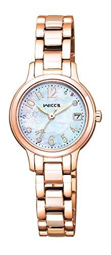[シチズン] 腕時計 ウィッカ ソーラーテック 春限定モデル 2,300本 KH4-963-91 レディース ピンクゴールド