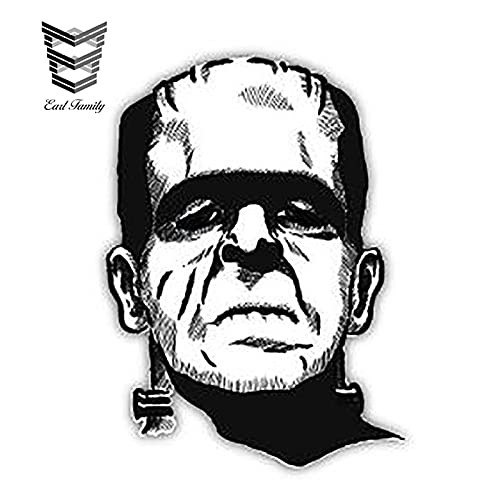 PJYGNK Car sticker 13cm X 9.4cm Frankenstein The Modern Prometheus Sticker Decal Car Styling DIY Waterproof Car Sticker Car Accessories
