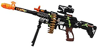 CifToys Combat Military Mission Machine Gun Toy with LED Flashing Lights and Sound..