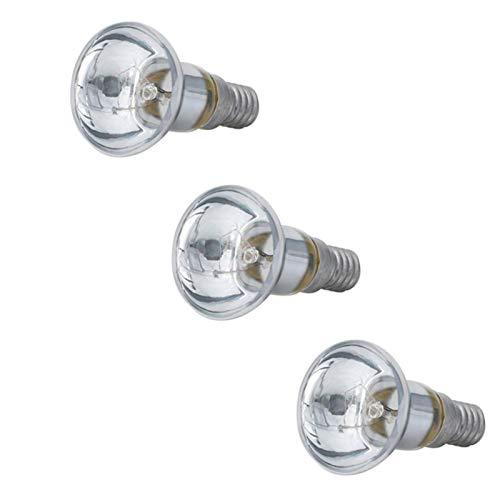 JHDS Edison Light Bulb 30W - R39 Reflector Spot Light Bulb - Lámpara De Filamento Incandescente - Bombilla Lámpara De Lava - Bombilla LED Transparente (no Regulable)