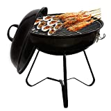 LeFroom 14-inch Charcoal Grill Outdoor Camping Courtyard Picnic Roast Meat Home BBQ Charcoal OvenCamp