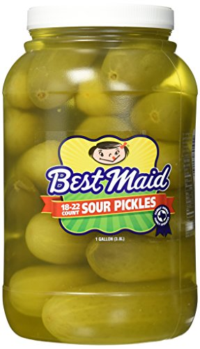 Best Maid Sour Pickles 1 Gal 18-22 count