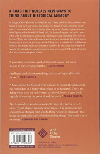 The Remainder: Shortlisted for the Man Booker International Prize 2019