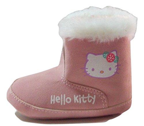 Hello Kitty Stiefeletten für Mädchen, Farbe Rosa, Pink - Rosa - Größe: 19 EU