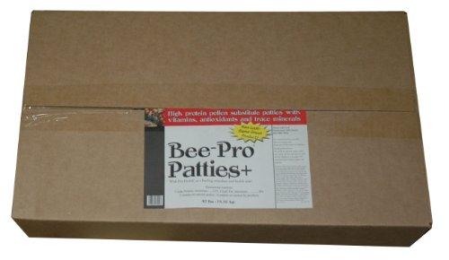 Mann Lake FD355 Bee Pro Patties with Pro Health, 40-Pound