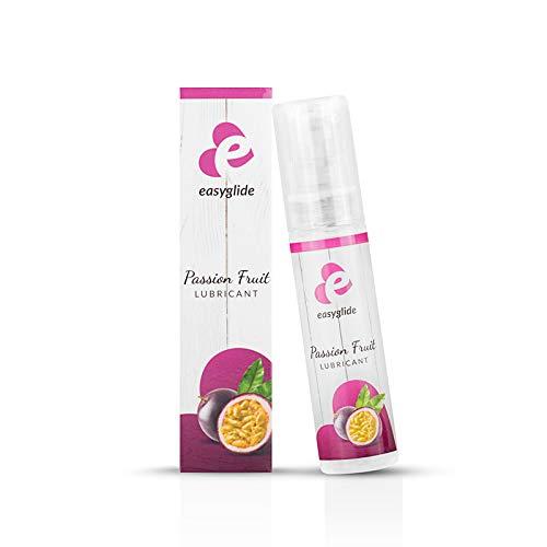 Lubricante EasyGlide Passion Fruit (30 ml) Lubricante suave a base de agua para alta humedad; Vegano, condón adecuado y delicioso