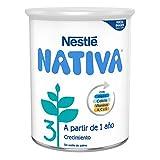 Nestlé Nativa 3 Leche de Crecimiento en Polvo Fórmula Infantil A Partir de Los, 12 Meses, 800g