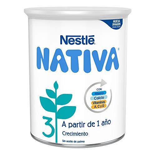 NESTLÉ NATIVA 3 – A partir de los 12 meses – Leche de crecimiento en polvo – Fórmula infantil -...