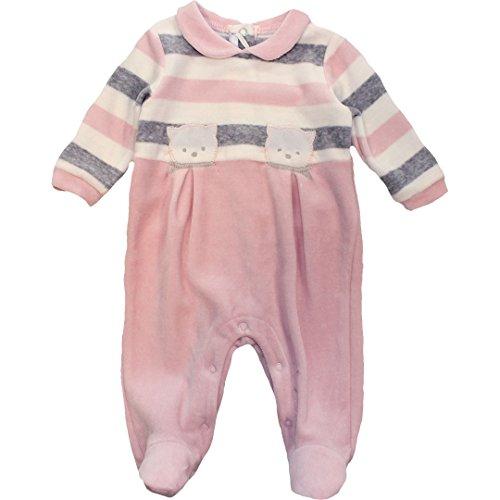 Minibanda Baby Strampler in Einer Geschenkbox rosa T684 (68-6M, rosa)