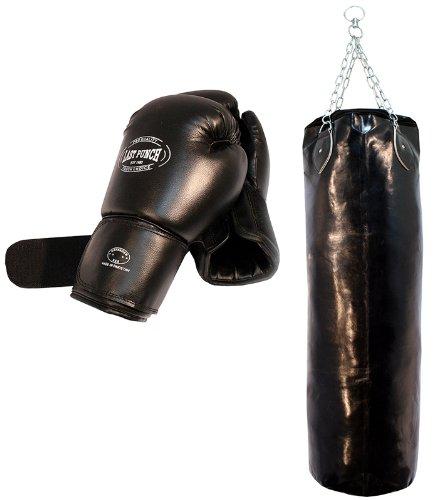 Last Punch - Guantes de Boxeo Profesionales ultraresistentes y Saco de Boxeo...