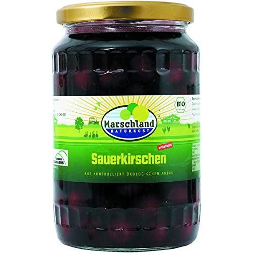 Marschland Sauerkirschen im Glas, entsteint (720 ml) - Bio