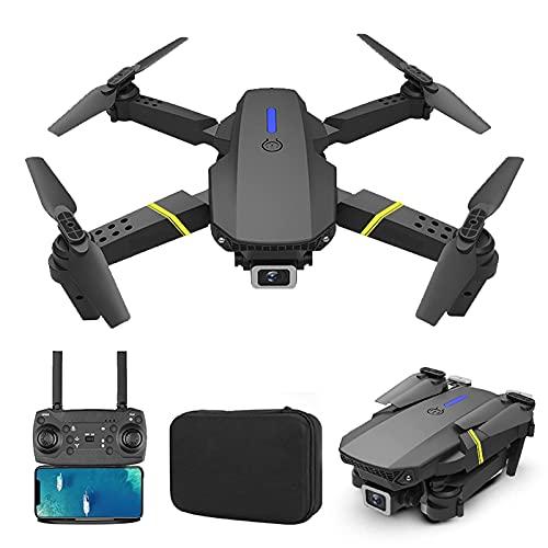 JJDSN Drone 4K HD Camera e GPS con Video in Diretta Mini Follow Me Droni remoti per 8-12 Bambini Adulti Fotocamera FPV 1080P Facile da Usare per i Principianti in modalità Senza Testa