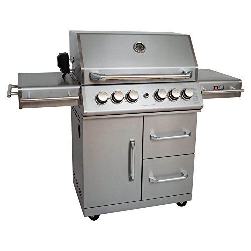 Mayer Barbecue ZUNDA Gasgrill MGG-342 Master mit Backburner
