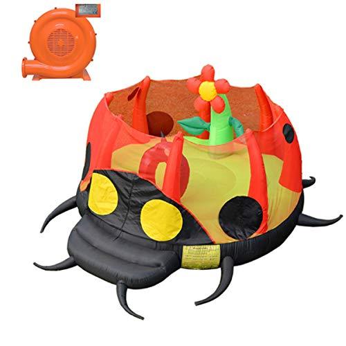 Thuis Springkasteel, Color Bouncy Springen Bouncer, Balloon Trampoline Met Elektrische Pomp, Tuin Speeltuin Voor Binnen En Buiten