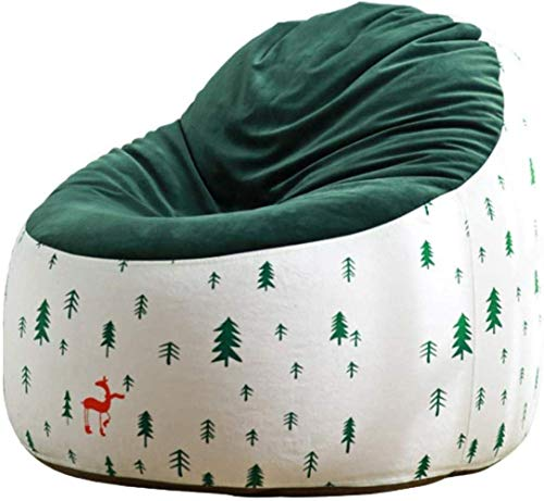 AlokHnvj Bean Bag Chair Single Cute Sofa, Little Simple Modern Sofa Small Apartment Recliner Tatami, for Adults and Kids Bedroom Living Room