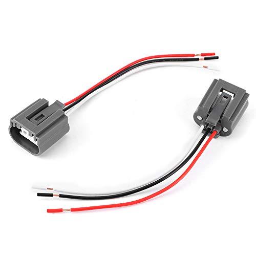 Radio del coche Cable de alambre Arnés de cableado Adaptador estéreo Conector...