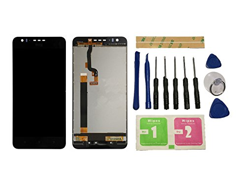 Flügel para HTC Desire 825 Pantalla LCD pantalla Negro Táctil digitalizador Asamblea Pantalla ( sin marco ) de Recambio & Herramientas