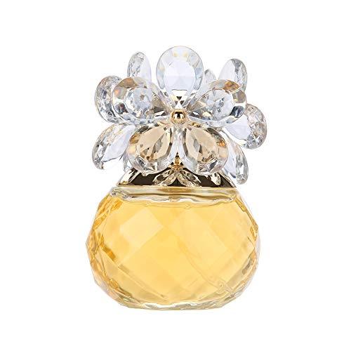 Women Perfume, Long Lasting Flower Wood Fragrance Lady Perfume Spray for Women 60 ML (Gold)