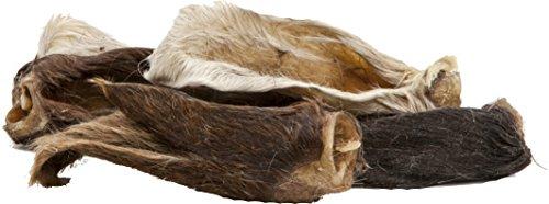 EcoStar Snack Lammohren mit Fell im Beutel, 1er Pack (1 x 1 kg)