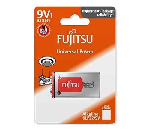 Fujitsu FB86660 - Batería alcalina Universal Power (6LF22 FU, tamaño 9V)
