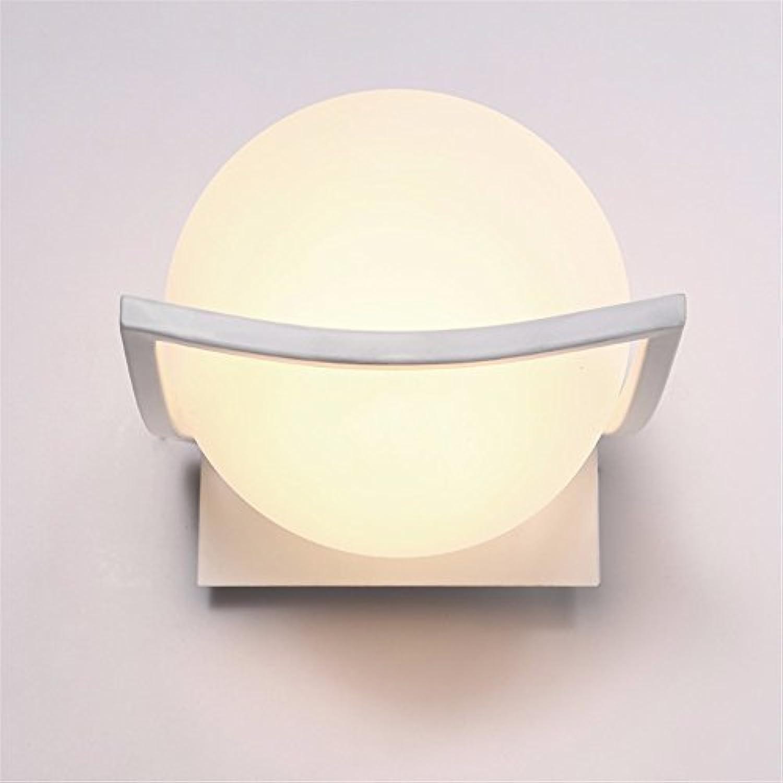 StiefelU LED Wandleuchte nach oben und unten Wandleuchten Schlafzimmer Bett Wandleuchten runde Verkehrskorridor Wandleuchte