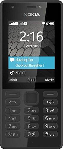 "Microsoft Nokia 216 DS, Teléfono Móvil de 2.4"" (cámara de 0.3 MP, ) Negro, dual SIM"