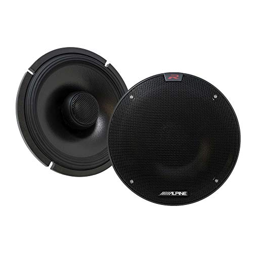 Alpine R-S65.2 R-Series 6 1/2-inch Coaxial 2-Way Speakers (Pair)