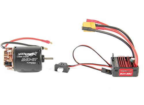 Turnigy Trackstar 540-11T Brushed Motor & 60A ESC Combo for 1/10th Crawler