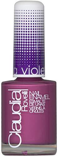 Vernis à ongles Claudia Rovelli - Collection Ultra Violet (Aubergine) - Lot de 3 vernis