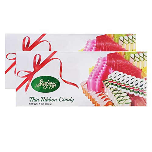 Sevigny's Thin Ribbon Candy (2 Pack, Total of 14oz)