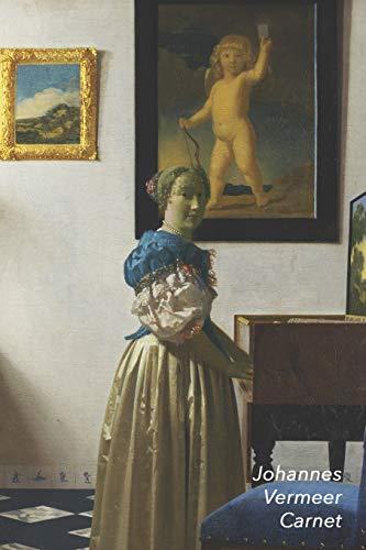 Johannes Vermeer Carnet: Une Dame Debout au Virginal | Idéal pour l